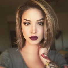 Love this haircut!!! I have very long hair but I'm sooooo tempted to chop it off!! Ughhhhh.... Decisions, decisions... ..