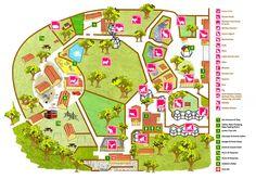 Battersea Park Zoo map