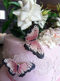 la torta per il battesimo della dolcissima Emma - by giuseppesoracecake @ CakesDecor.com - cake decorating website