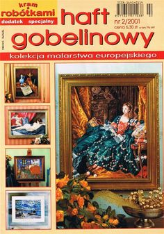 (1) Gallery.ru / Фото #1 - 2001 02 - tymannost Cross Stitch Magazines, Diy And Crafts, Pattern, Projects, Painting, Scrappy Quilts, Cross Stitch, Embroidery, Sew