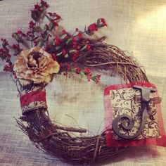 To order custom wreath, email: emilyanne6809@gmail.com Shipping available!