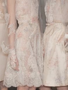 Backstage at Valentino Haute Couture Spring 2012