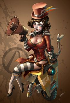 Awesome Character Design  by Quirkilicious  Moxxi borderlands amazing character design