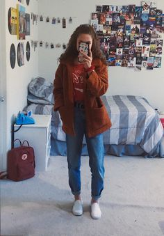 Pin by natalya simone on inspo ☆ in 2019 fashion outfits, outfits, vintage outfits Grunge Outfits, Trendy Outfits, Winter Outfits, Cute Outfits, 80s Style Outfits, Weird Outfits, Teen Fashion, Winter Fashion, Fashion Outfits
