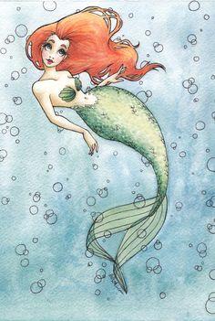 Nautical Redhead by BeffaneeMaree.deviantart.com