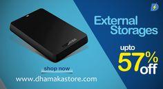 Now External Storage got 57% off. Buy now....