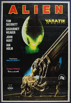 Classic Movie Posters Original | original Turkish movie poster for Ridley Scott's 1979 sci-fi classic ...