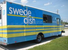 swedeDISH food truck, orlando, FL: we spotted it around thanksgiving, but have yet to try this mecca for clay. can't wait!