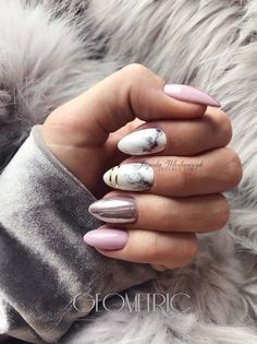 What manicure for what kind of nails? - My Nails Perfect Nails, Gorgeous Nails, Love Nails, Pink Nails, My Nails, Square Nails, Creative Nails, Almond Nails, Nail Manicure