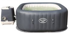 "Bestway Lay-Z-Spa Whirlpool ""Hawaii HydroJet Pro"", viereckig, 180 x 71 cm, Personen, grau Best Gas Barbecue, Jacuzzi, Intex Whirlpool, Inflatable Hot Tub Reviews, Tubs For Sale, Hot Tub Garden, Hawaii, Lidl, Shopping"