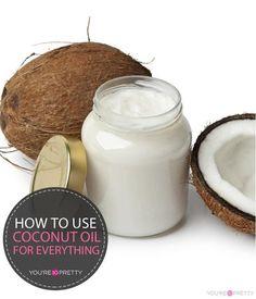 10 trucos geniales con aceite de coco