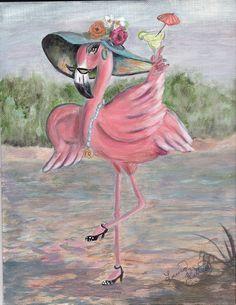 Girlie flamingo