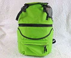 Picnic-Time-Zuma-Insulated-Cooler-Backpack-Lime-Green