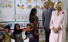 Prince Charles and Camilla visit Mumbai crèche - Telegraph