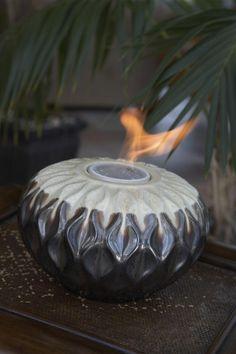 Tabletop Fire Pots   Google Search