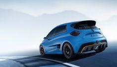 Concept car Renault ZOE e-Sport #Concept-Car #RenaultZOE #RenaultSport #ElectricVehicle (c)Arnaud TAQUET