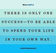 One success quote via Facebook.com/CareerBliss