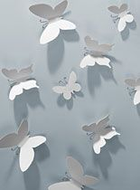 3-D Butterfly Wallflutters Set