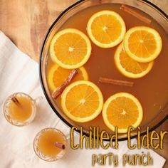 This punch is a perfect mix of festive fall flavors and is perfect for serving a large crowd at your next gathering. Recipe here: http://www.relishcaterersnyc.com/758959/2013/10/31/fall-entertaining-chilled-cider-punch.html