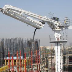 32m Hydraulic Concrete Pump Placing Boom Concrete Pump