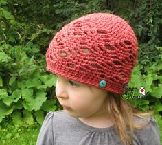 The Ally Beanie  Made to Order Newborn Toddler by FromHomeCrochet $14.75