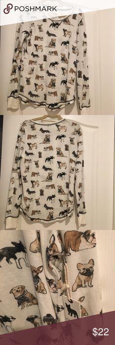 pajama long sleeve PJ long sleeve shirt, new with tags. never worn before ! PJ Salvage Intimates & Sleepwear Pajamas