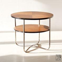 Jindrich Halabala tubular steel table - 1935