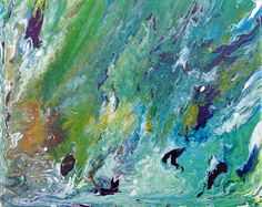 "For Sale: Ocean turbulence abstract by Eric Barnes | $100 | 8""w 10""h 