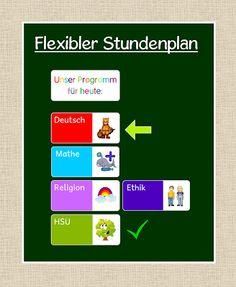 Frau Locke: Flexibler Stundenplan