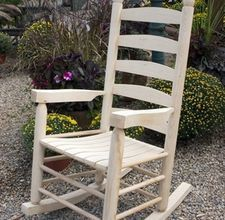 How To Paint An Outside Wooden Rocking Chair | Wooden Rocking Chairs,  Rocking Chairs And Porch