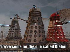 Thank you Daleks