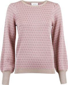 Loline Graphic Knit Bouse fra NEO-NOIR | 499.00 DKK | Magasin.dk Men Sweater, Pullover, Knitting, Rose, Sweaters, Products, Fashion, Moda, Pink