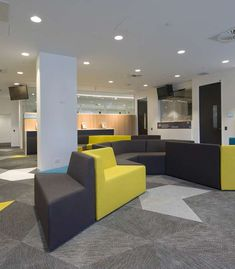 Bolon flooring in the office of the Department of Immigration & Border Protection in Adelaide, Australia