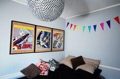 Bienvenue chez Louison, Dessinatrice - Hëllø Blogzine www.hello-hello.fr #home #design #colorful #helloblogzine