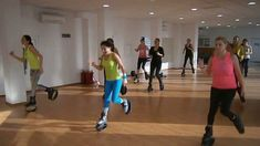 Latin choreography with Kangoo jumps