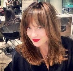 Dakota Johnson   At the salon