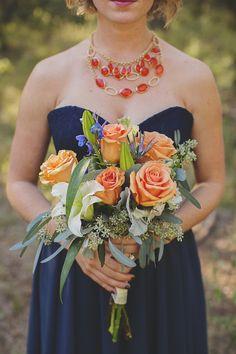 Bright and Beautiful Backyard Wedding