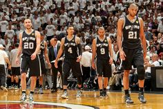 Manu Ginobili, Danny Green, Tony Parker & Tim Duncan =-= Drive For Five !! <3