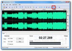 免費Wave Editor快速編輯手機鈴聲、MP3音樂的小工具