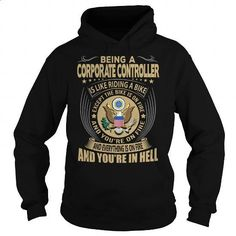Corporate Controller Job Title - #harvard sweatshirt #online tshirt design. MORE INFO => https://www.sunfrog.com/Jobs/Corporate-Controller-Job-Title-104192882-Black-Hoodie.html?60505