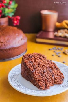 Food Cakes, Banana Bread, Cake Recipes, Muffin, Breakfast, Desserts, Nicu, Vegan Desserts, Tricot