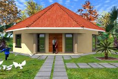 Round Hut House Design Amazing Design Ideas Free Rondavel House Plans 3 Modern Pin By Thati On My Home Round House Plans Modern House 42 Best Round Houses Images In 2019 Round Micro House Plans, Round House Plans, Single Storey House Plans, Simple House Plans, My House Plans, Cottage House Plans, Bedroom House Plans, Modern House Plans, House Floor Plans