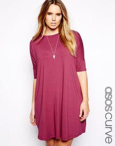 Image 1 ofASOS CURVE The T-Shirt Dress