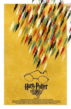 Harry Potter and the Deathly Hallows - movie poster - Adam Juresko