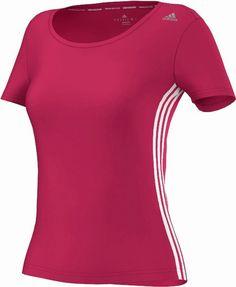 AdidasCT CORE TEE Shirt clima cool Sport Fitness Freizeit pink Laufshirt  Gr. S