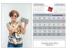Febbraio:...Sara Fazio di Cucireidee di Varazze esce dal grigio inverno con una delle sue preziose e coloratissime pochettes! Ph. Foto Studio Azais - Finale Ligure