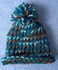 Preemie Loom Knit Hat