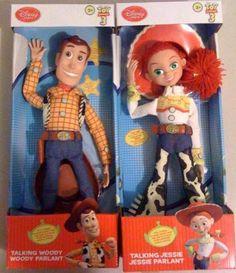 Woody and Jessie Dolls