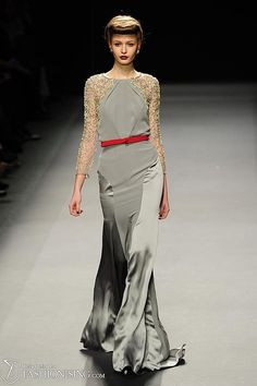 Jenny Packham Fall/Winter 2012 collection.