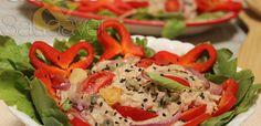 Salada de Aveia e Atum